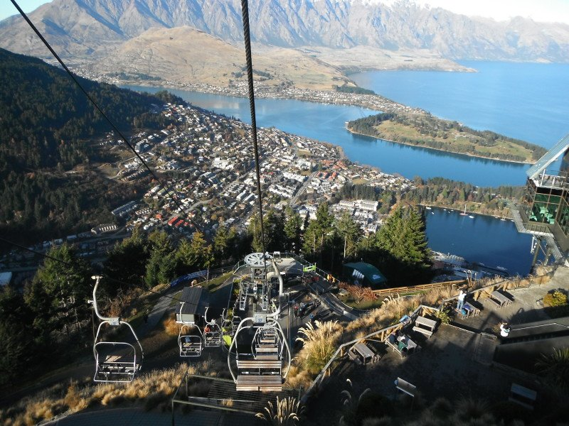 View from the Skyline Gondola queenstown