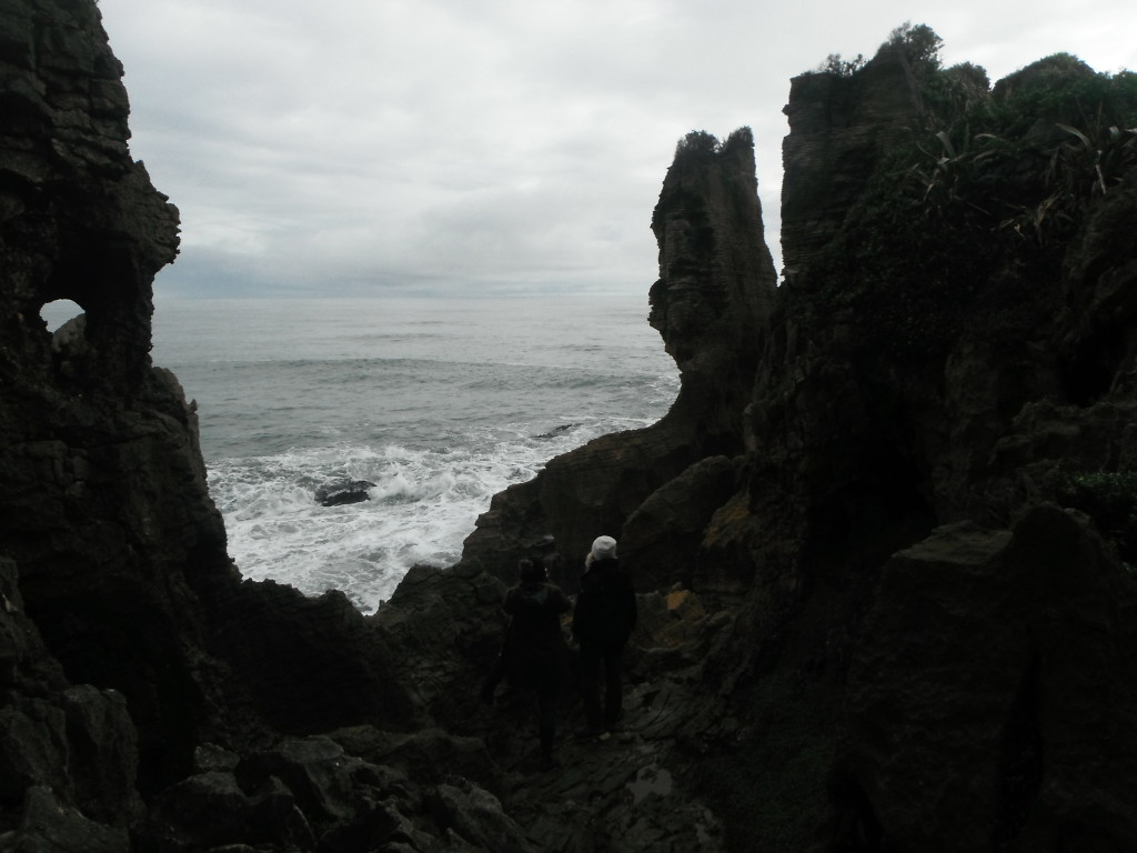 Breaking the rules for a better look at pancake rocks