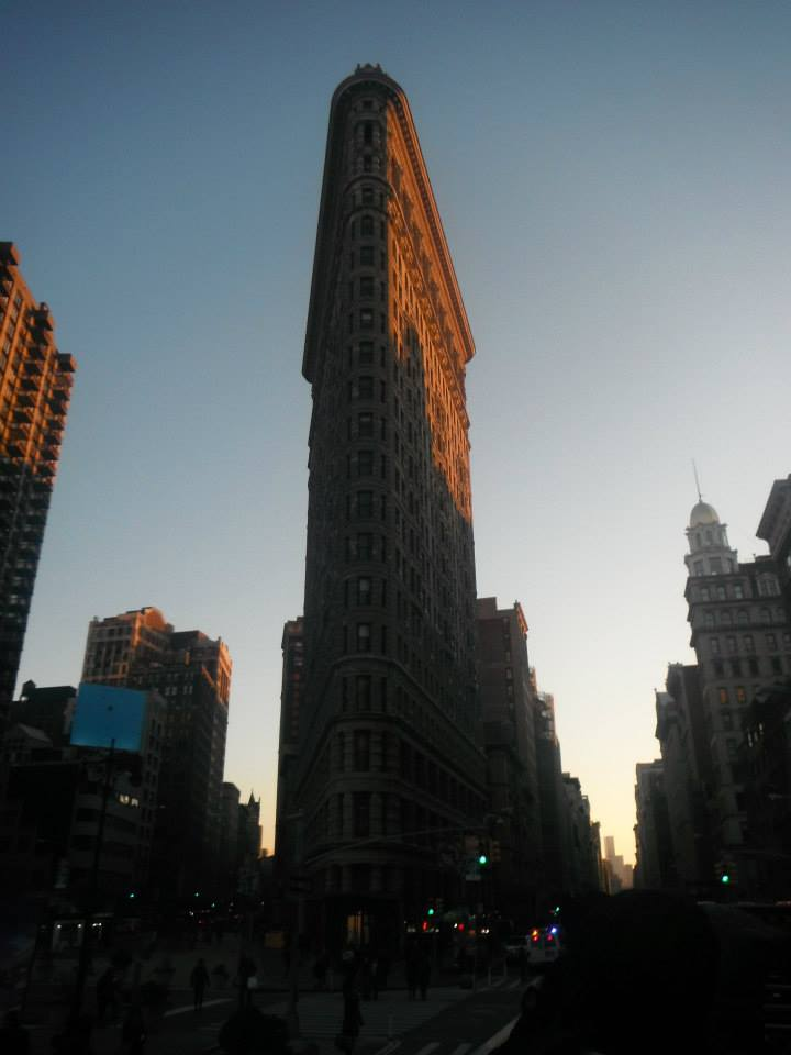 if you have a few days in New York, see the flat iron building