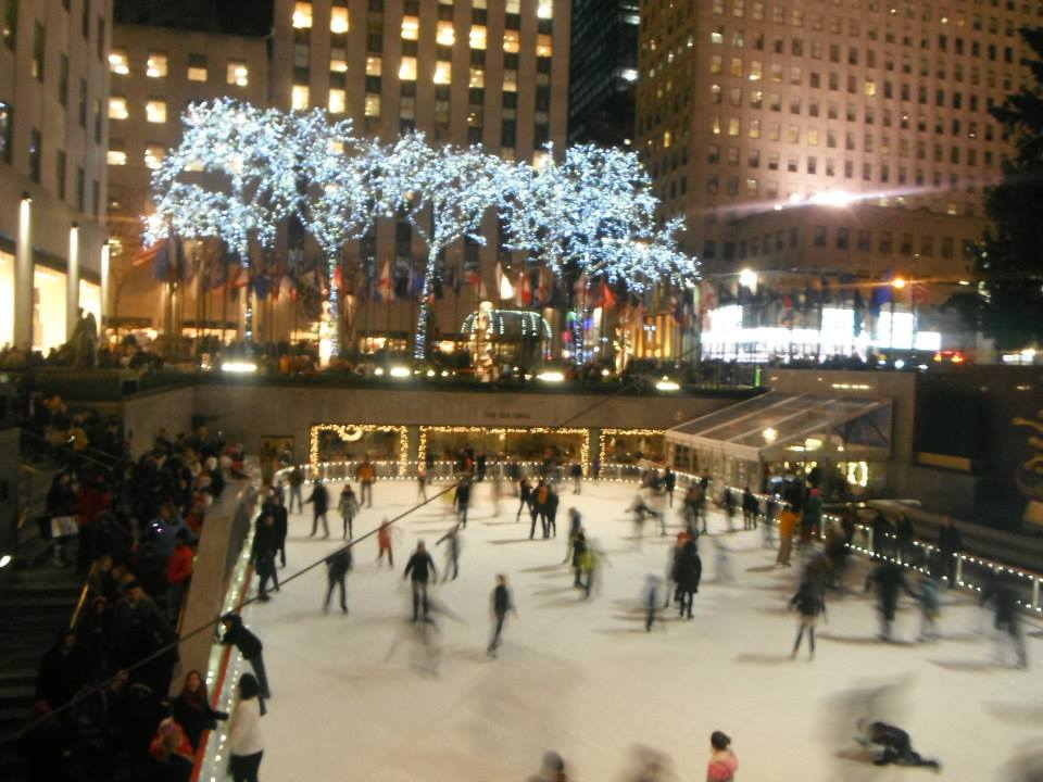 ice skating should be on your 5 day manhattan plan