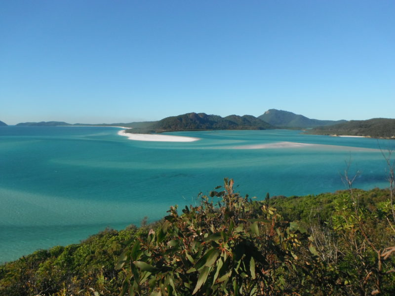 Whitehaven beach is the jewel of the Whitsunday Islands