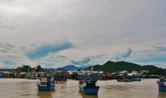 Fishing boats in Vietnam