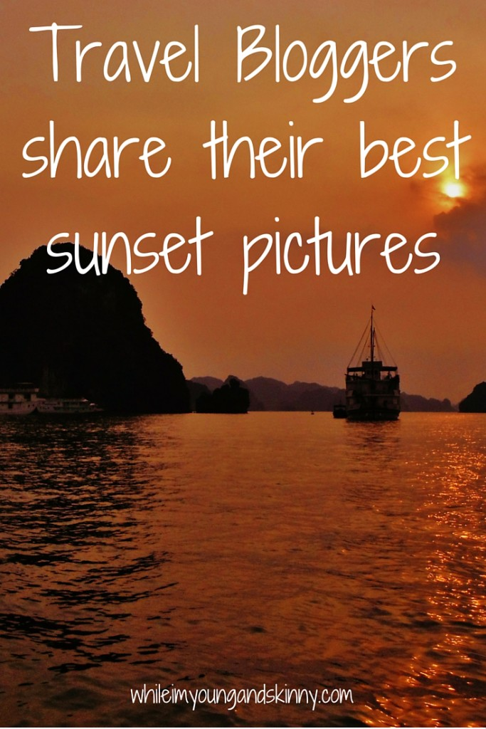 sunset pictures from around the world