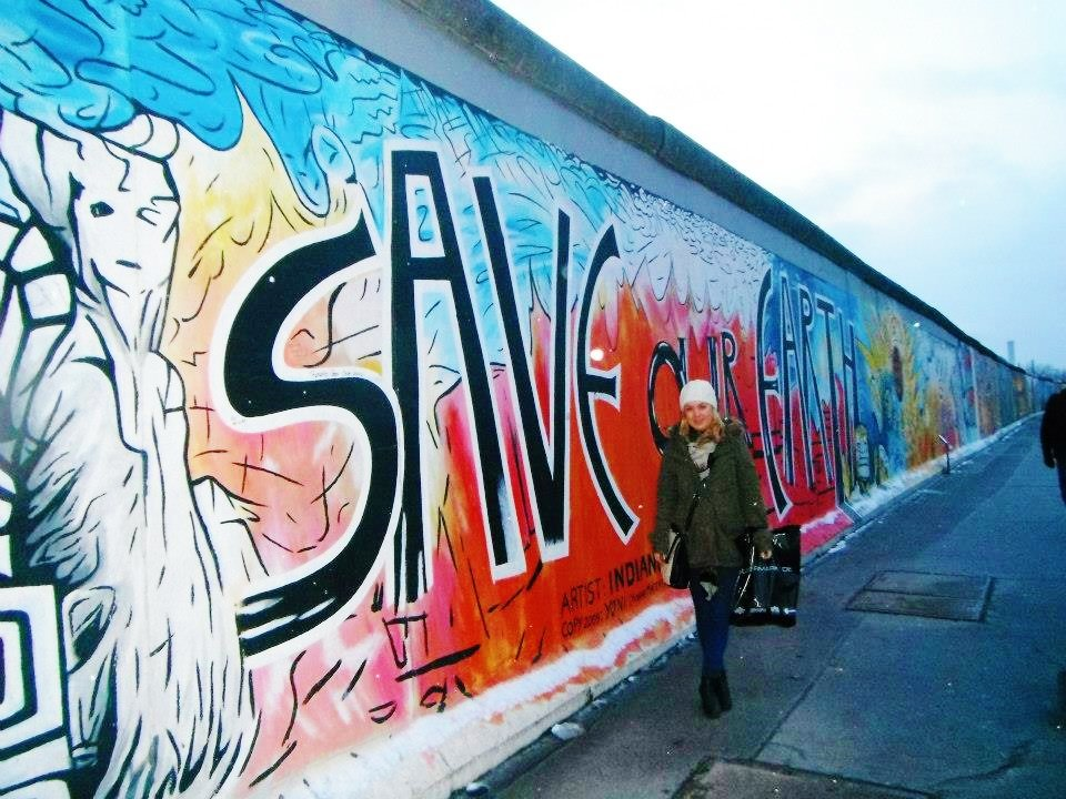 Save the earth Berlin wall