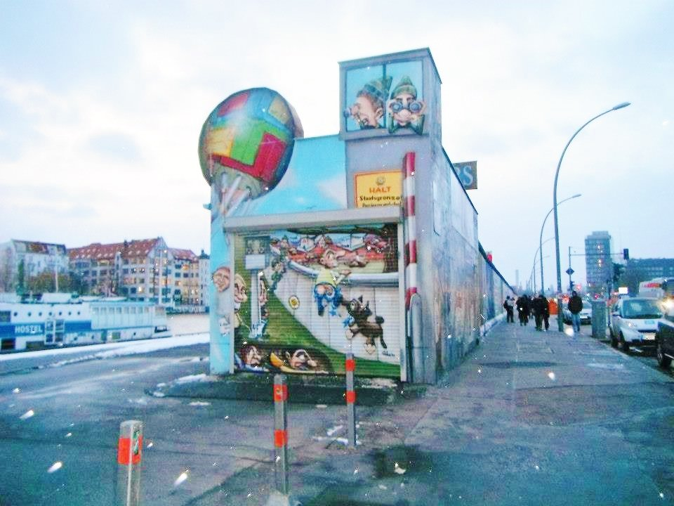 Berlin wall end