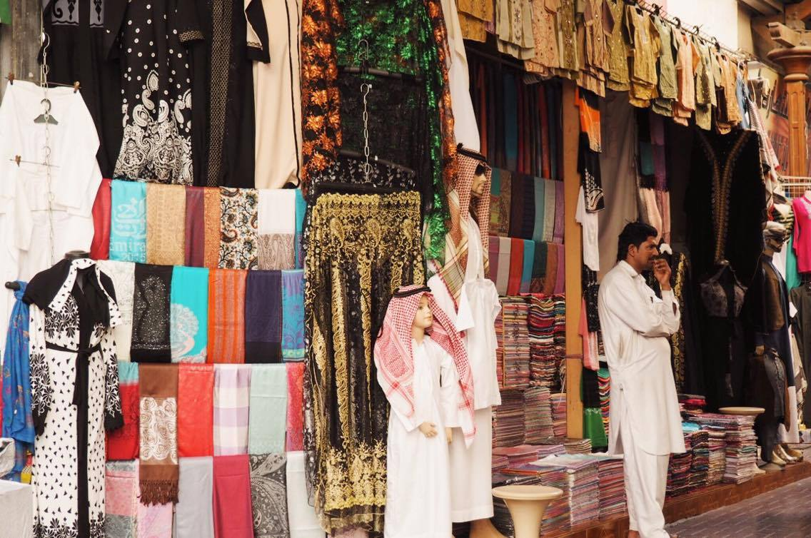 clothing and pashminas in Deira