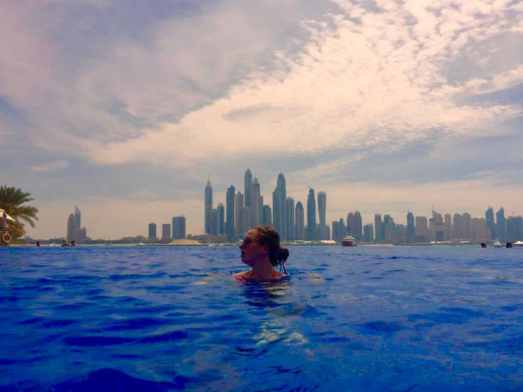 oceana residence dubai pool day