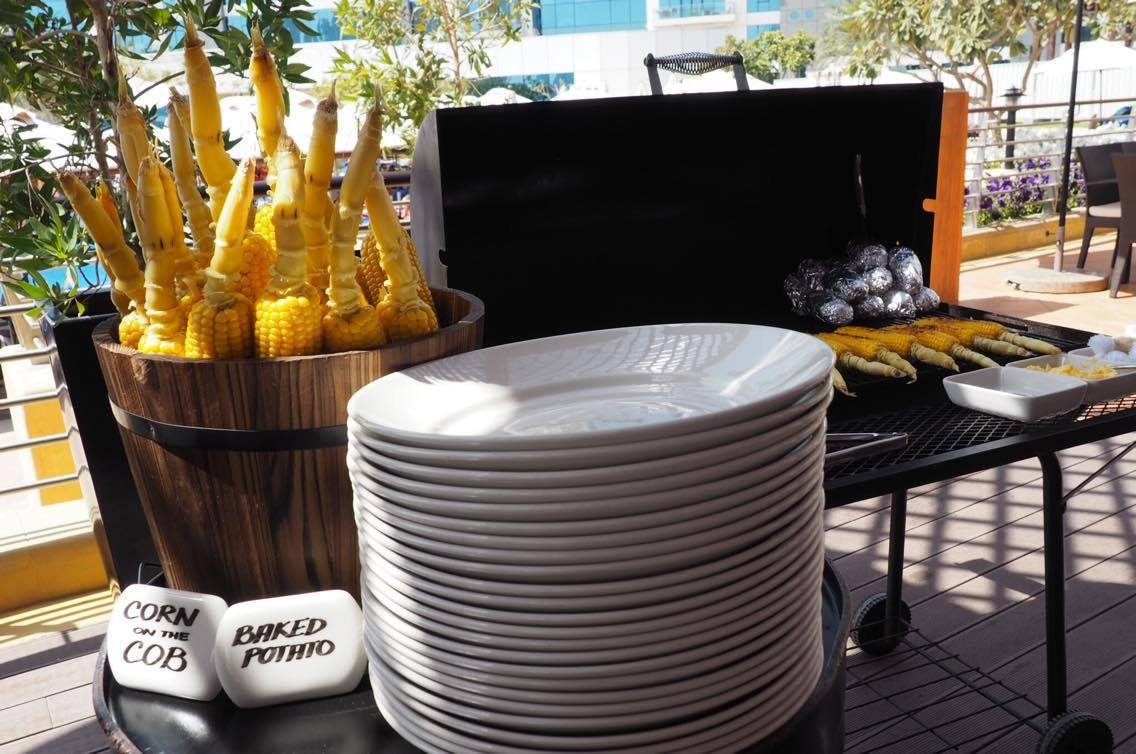 bbq brunch at West 14 on the palm dubai