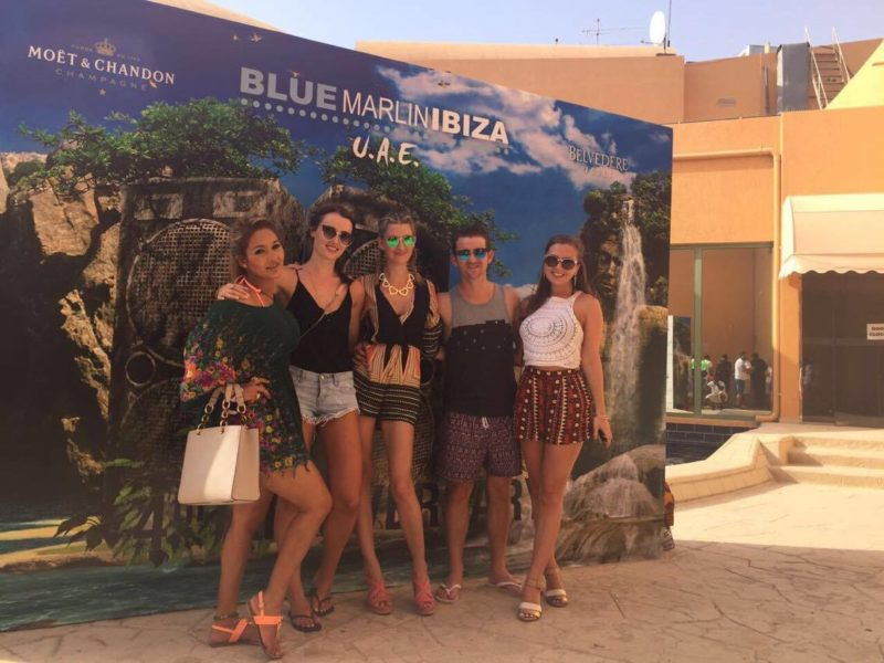 Blue Marlin girls