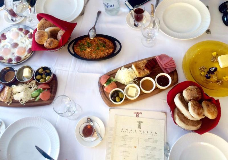 Kaftan turkish breakfast review
