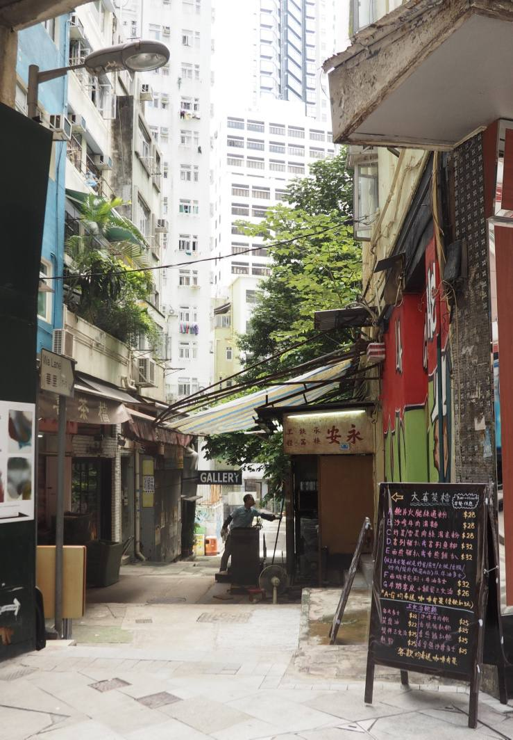 hong kong island art galleries