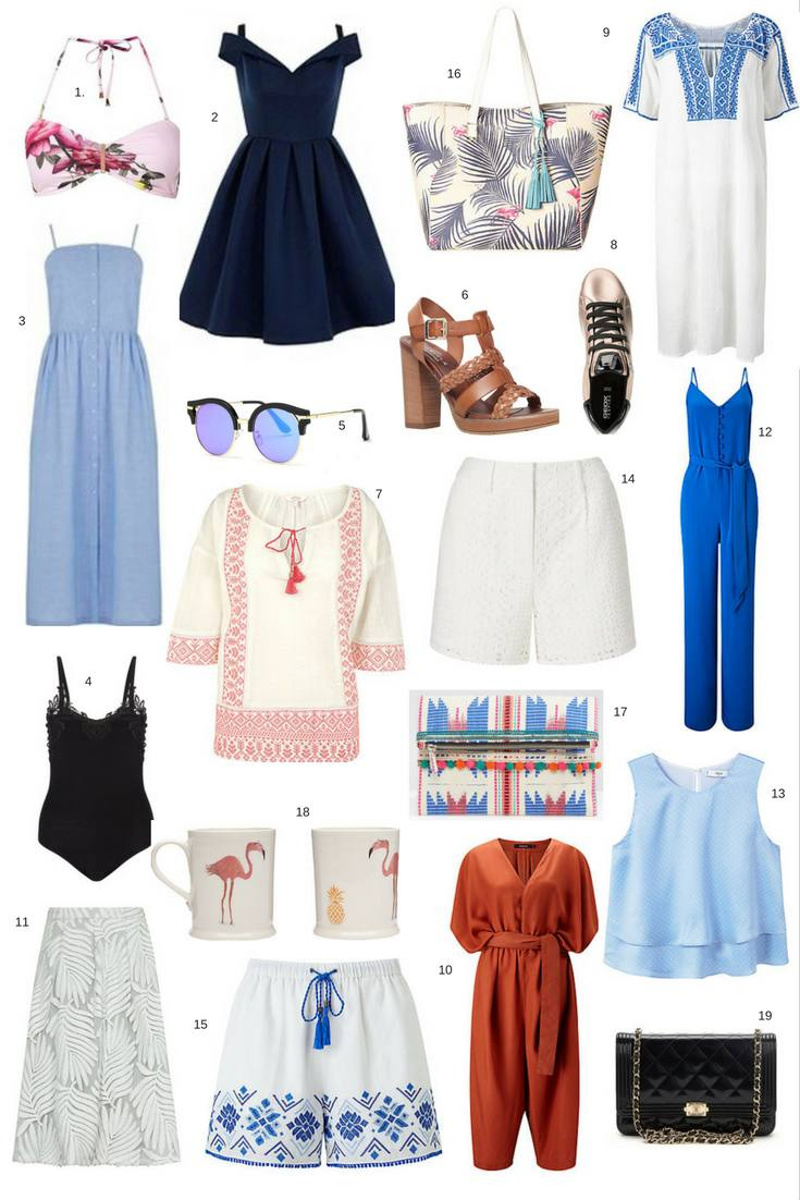 July 2016 Love & Lust style list - While I'm Young and Skinny travel, life and style blog