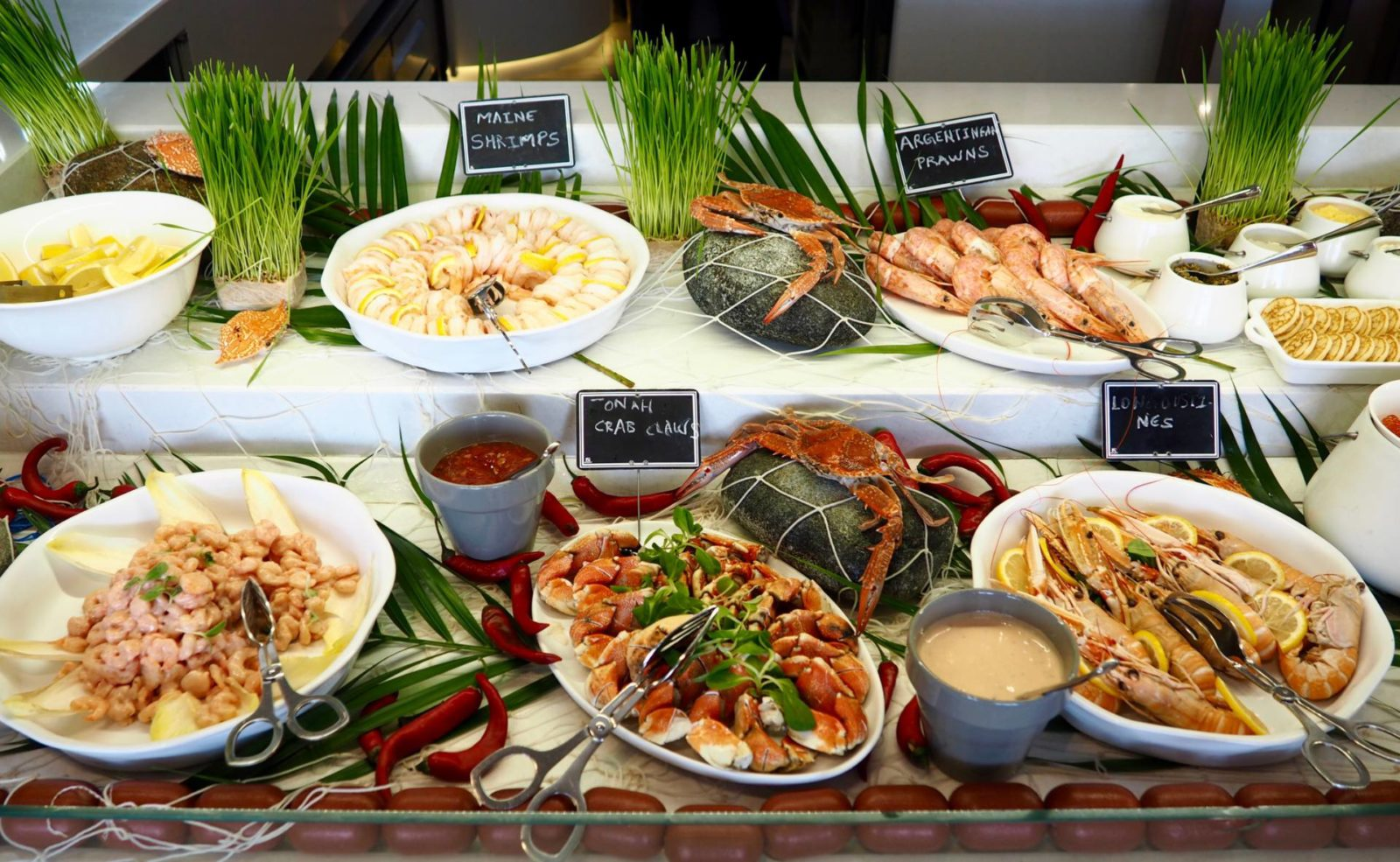 Seafood Brunch at Brasserie 2.0 Le Royal Meridien Review