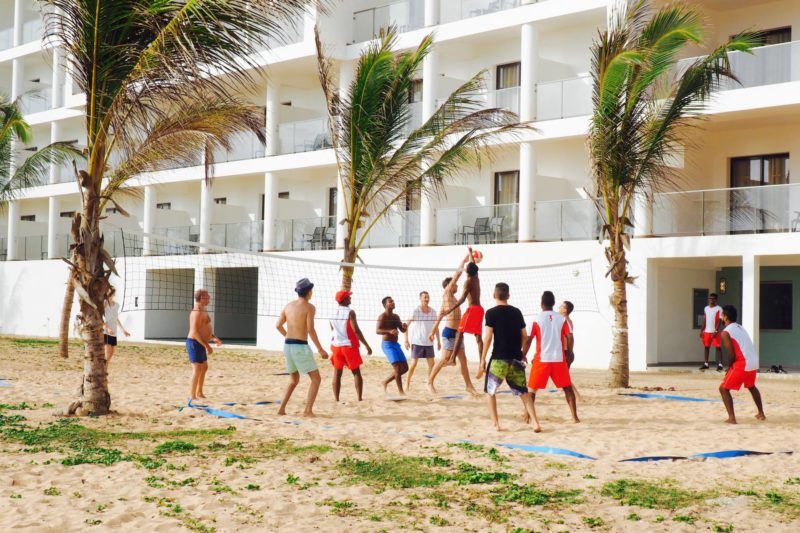 RIU Sri Lanka hotel review - beach entertainment