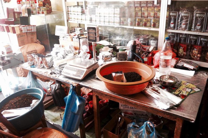 things to do in Ahungalla: tea shopping