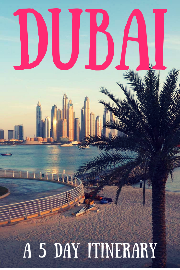 five days in Dubai - what do do?