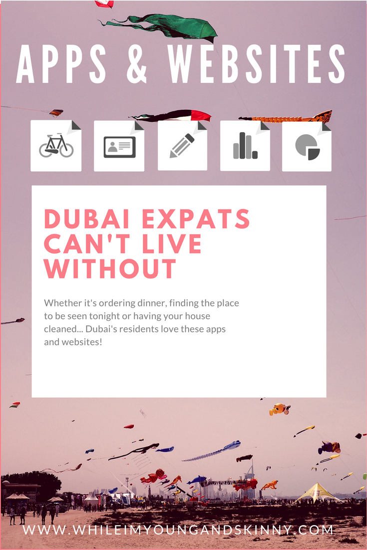 Apps and websites for Dubai life