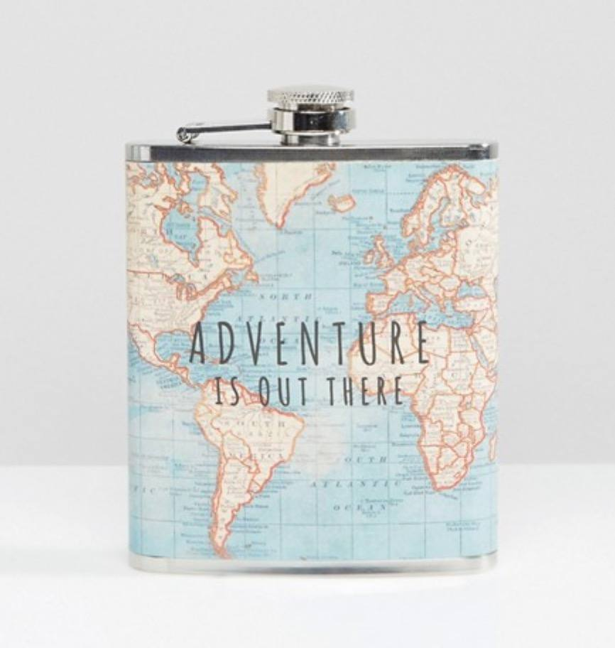 Best gifts for female travellers: hip flask