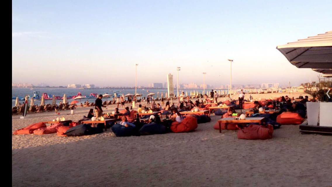 JBR Beach Dubai staycation