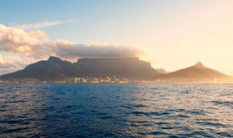 First day in Cape Town