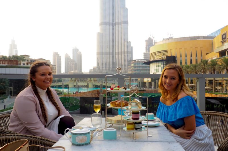 Girls Afternoon Tea in Dubai