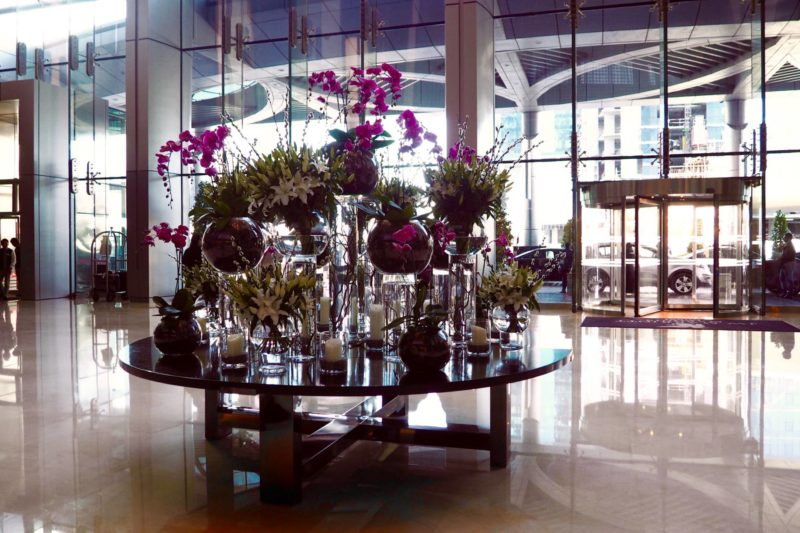 JW Marriott Marquis Dubai Hotel review - lobby