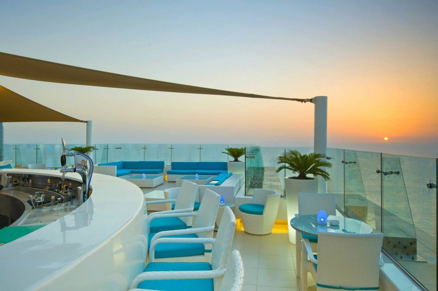 Best sky bars in Dubai: Pure Sky Lounge
