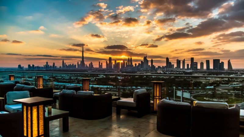 Best bars with a view in Dubai: Tomo