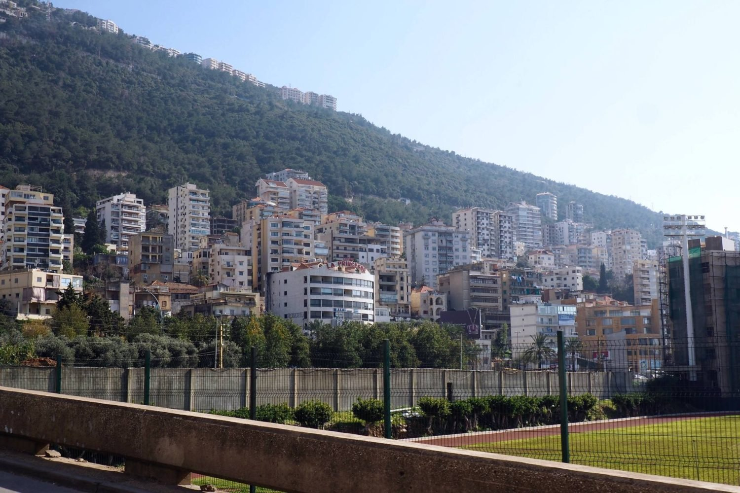 Two days in Lebanon: bus travel