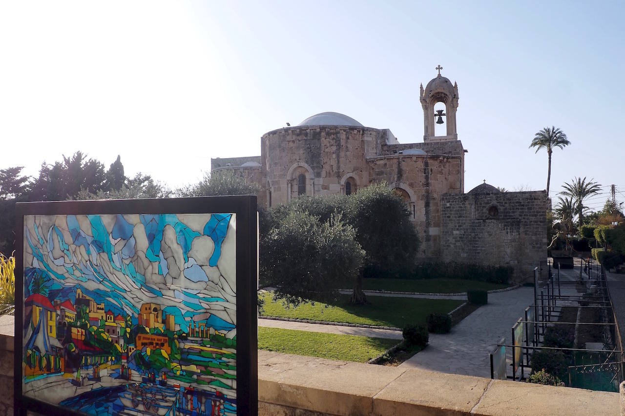 Church of St John the Baptist in Byblos