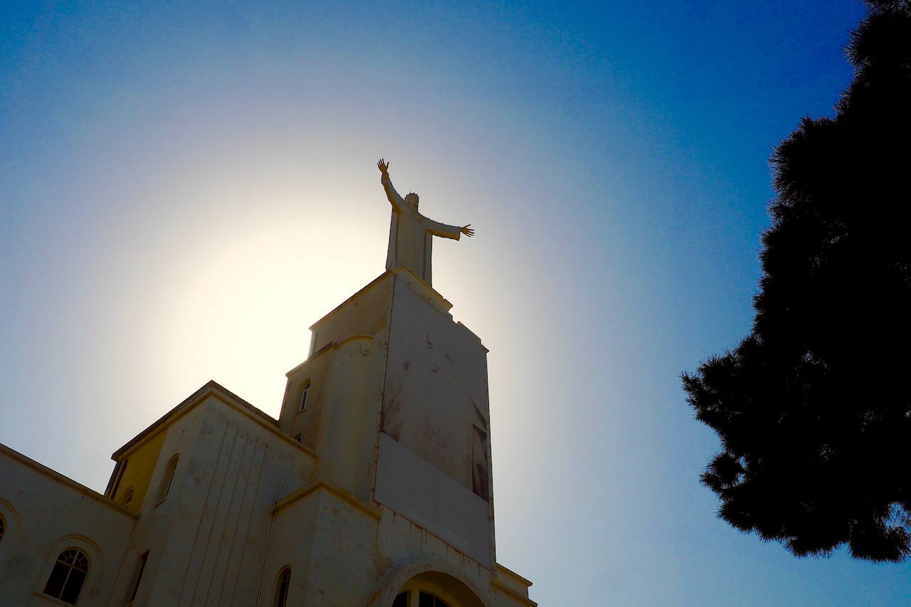 Christ the King statue in Lebanon