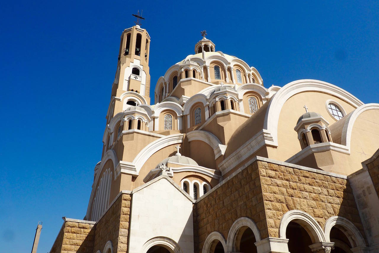Saint Paul Cathedral in lebanon