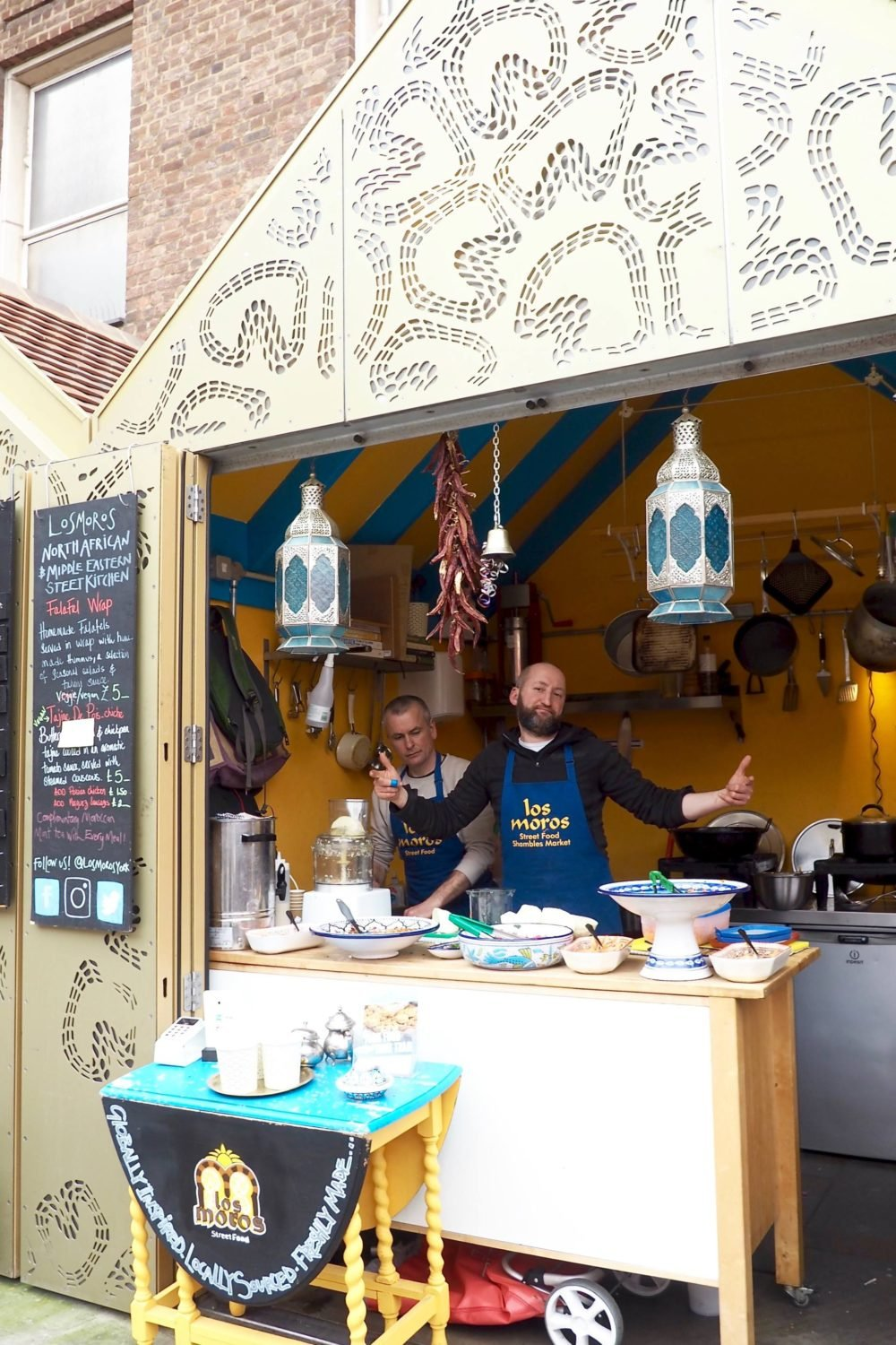 York food tour: food market