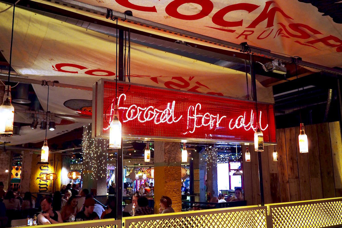 Food for all sign Turtle Bay Newcastle