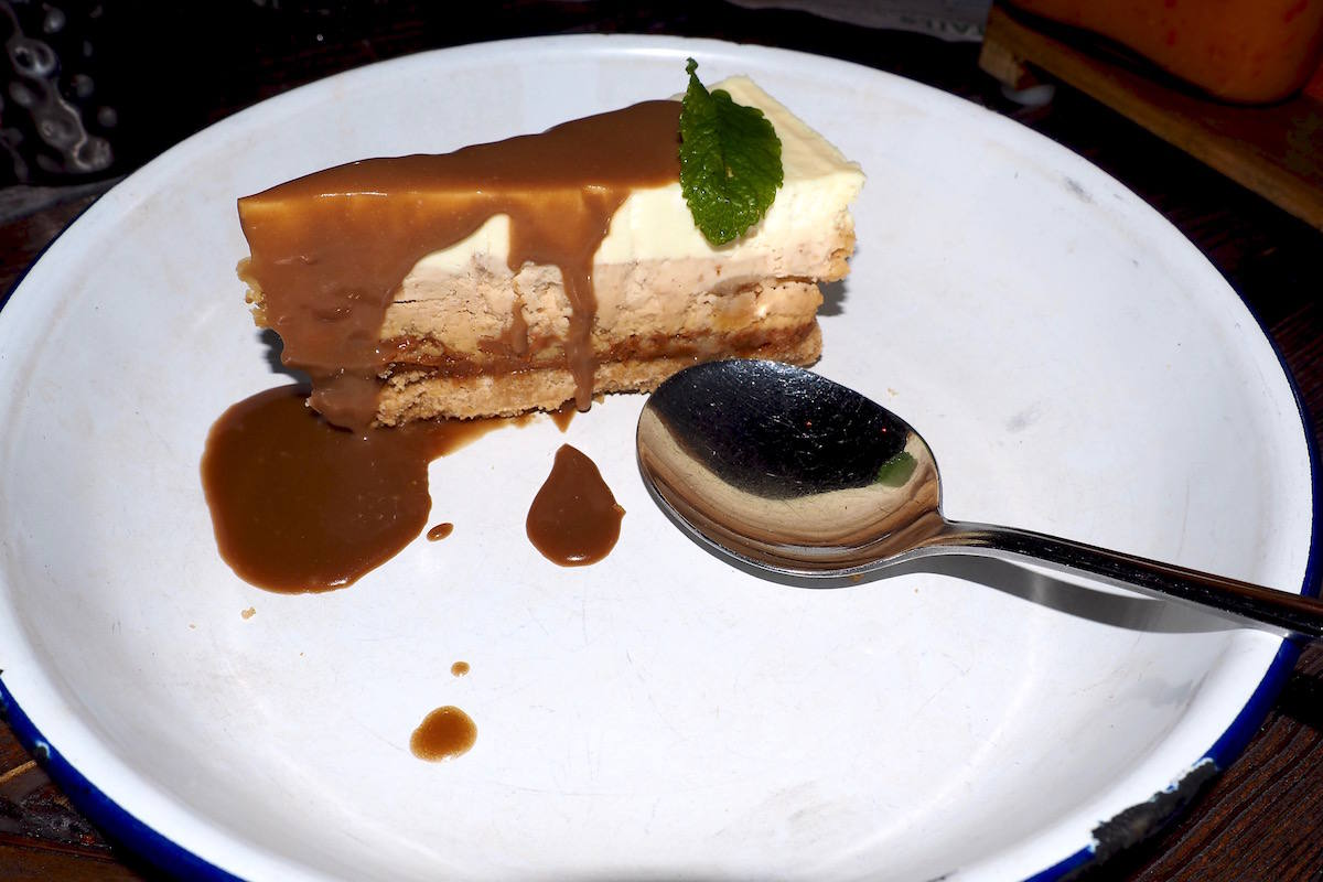 Cheesecake at Turtle Bay Newcastle