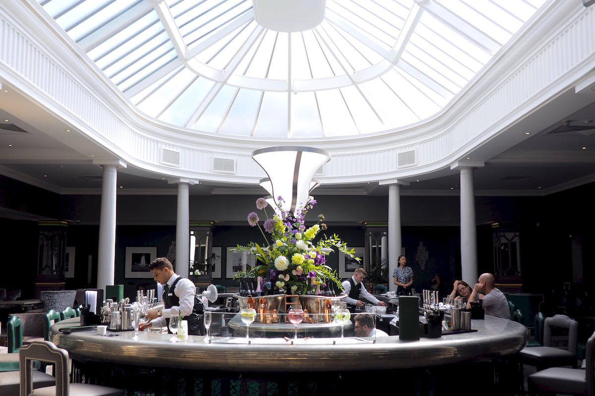 Brabazon Bar review, The Belfry hotel