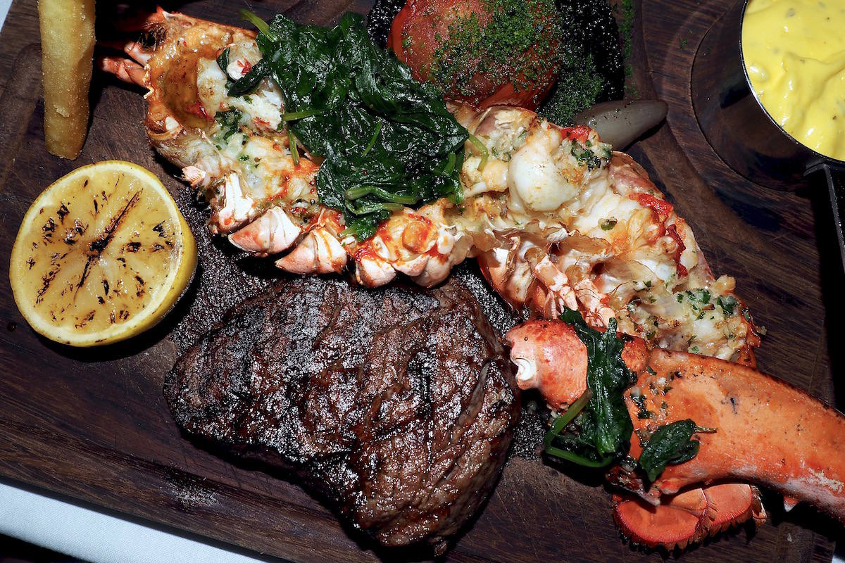 The Belfry Ryder Grill restaurant review: surf n turf