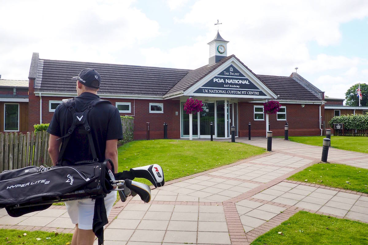 Golf lessons at The Belfry's PGA Academy