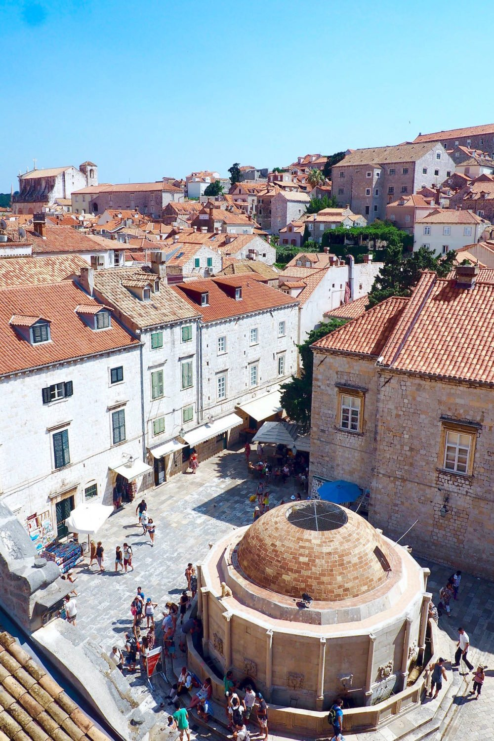 What to see if you have three days in Dubrovnik: Onofrio's Fountain