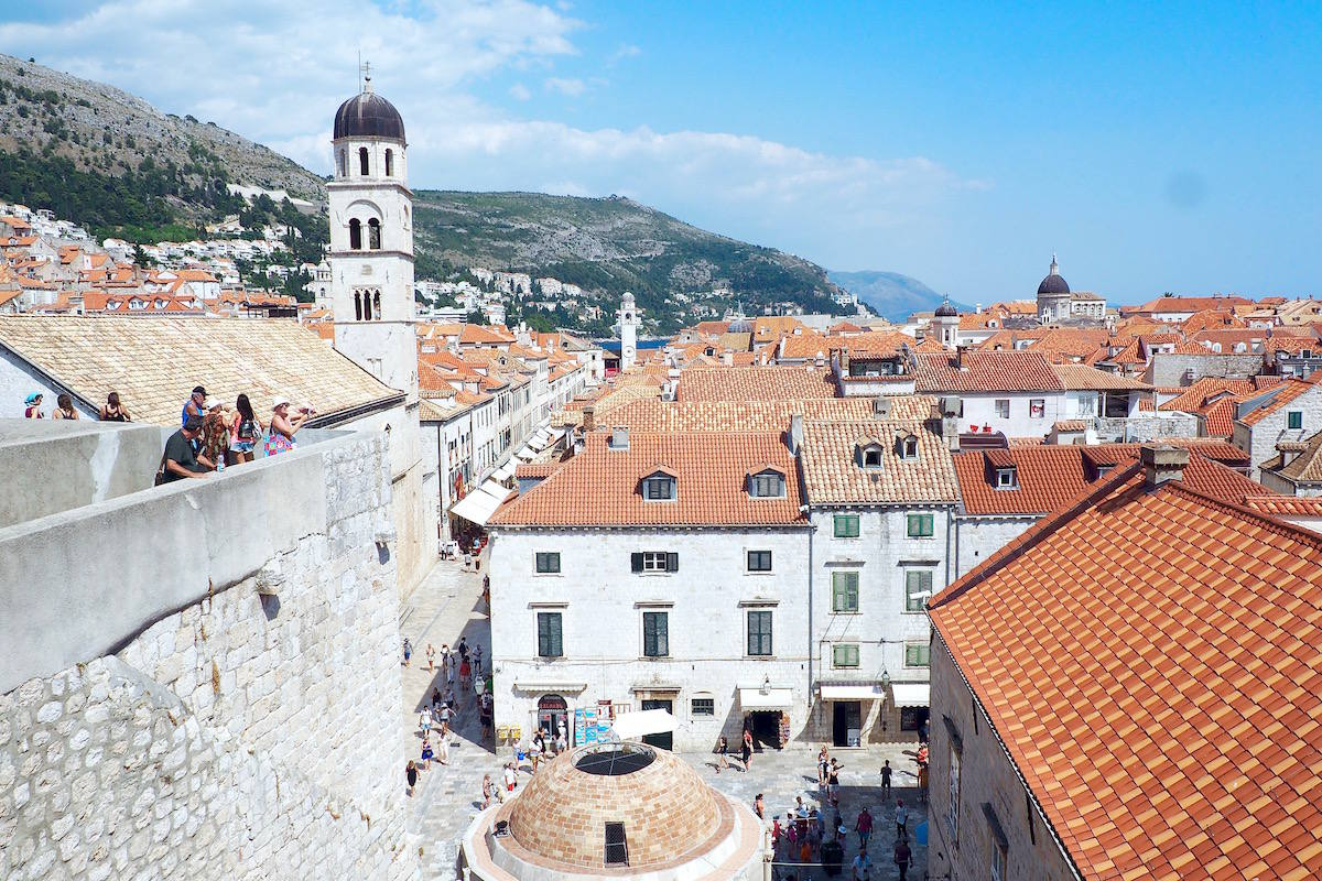 What to do with three days in Dubrovnik: city walls walk