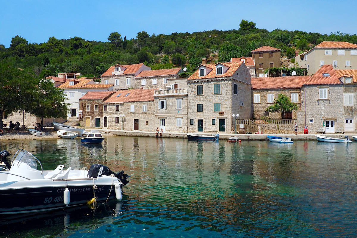 Sipan island: best islands to sail to from Dubrovnik