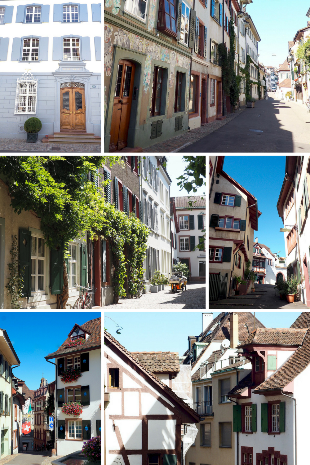 Basel, Switzerland: old town architecture
