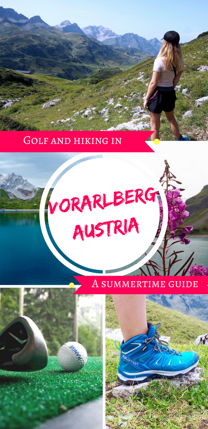 Golf and hiking in Vorarlberg, Austria: a summertime guide