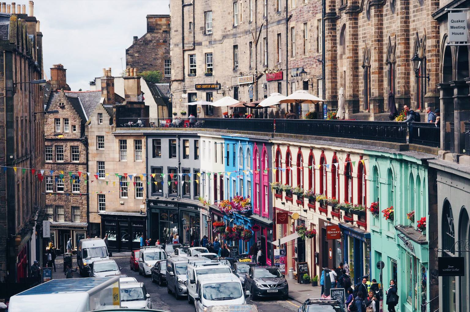 Best European City Break Destinations Edinburgh