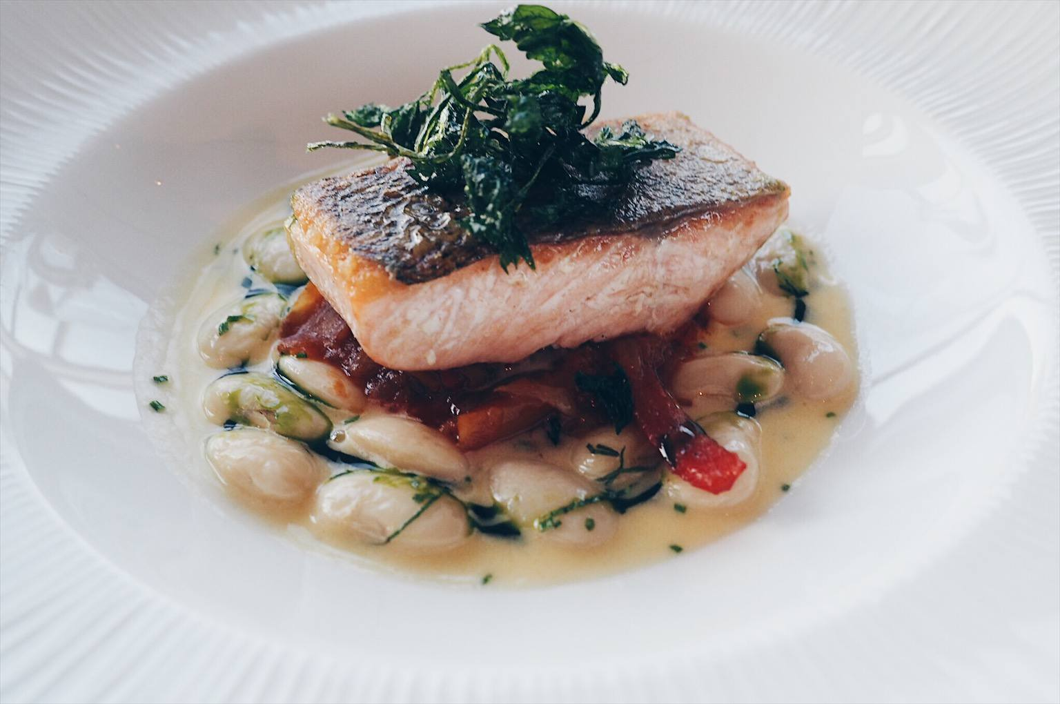 Early evening menu at Six restaurant BALTIC review