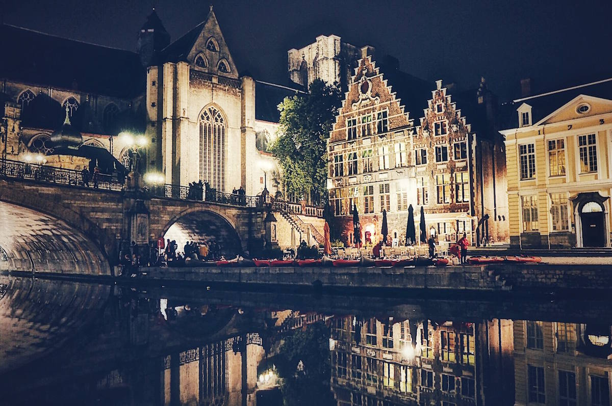 What to do in Ghent at night