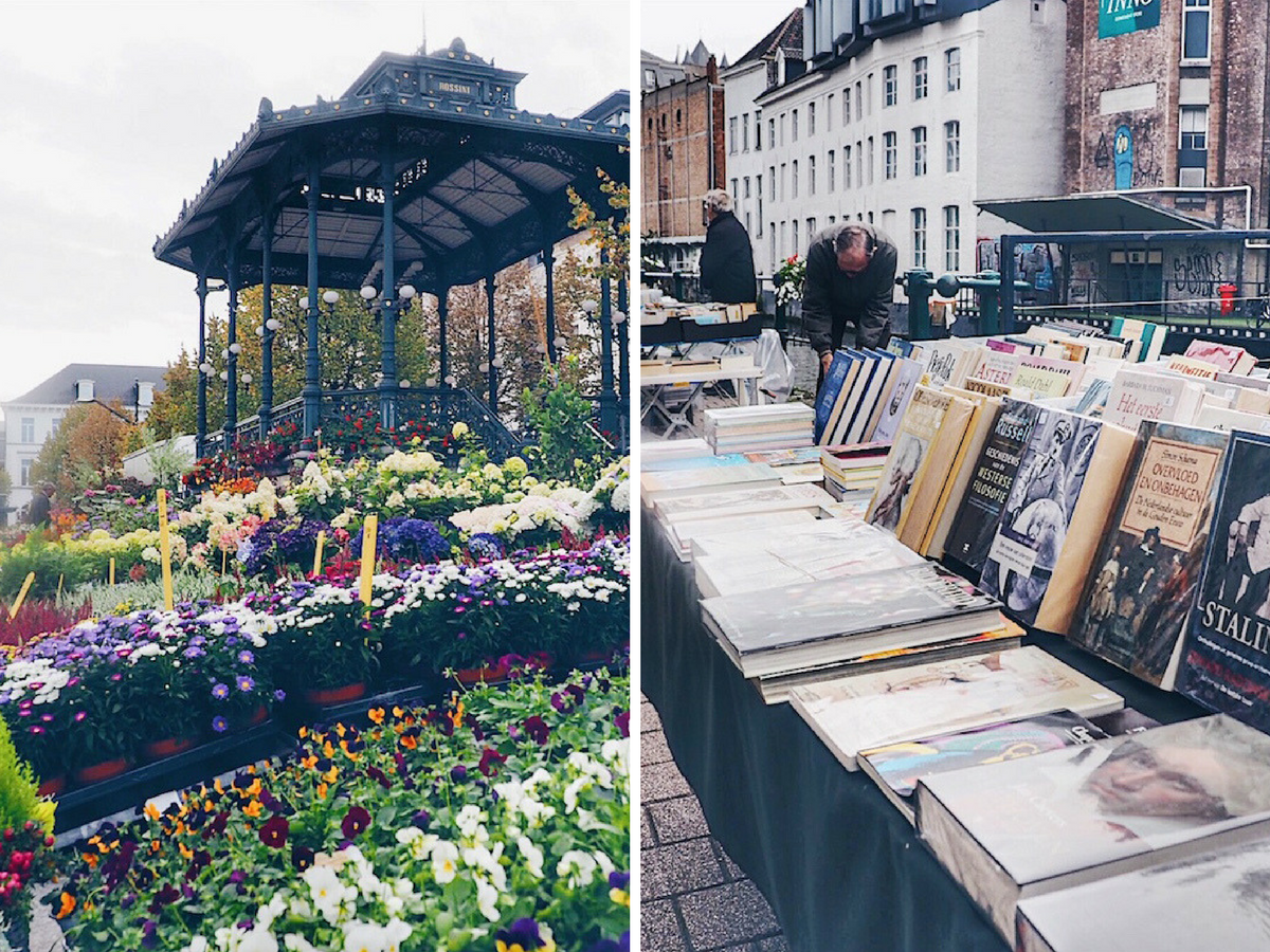 Ghent markets: what to do on weekends in Ghent