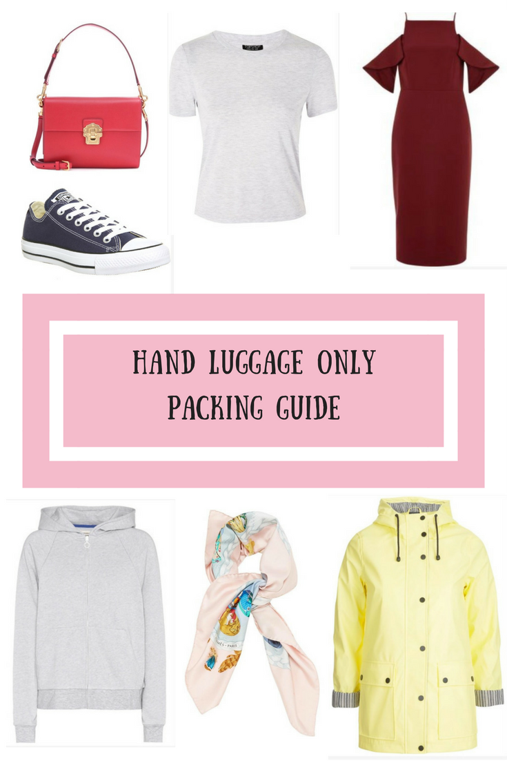 Hand luggage only packing guide