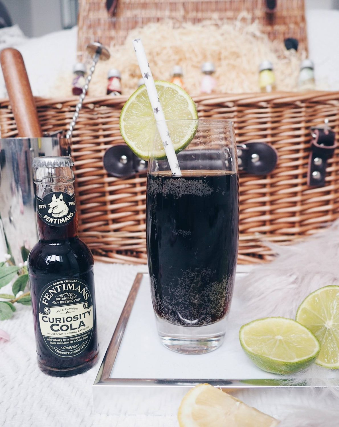 Cola based alcohol free cocktails