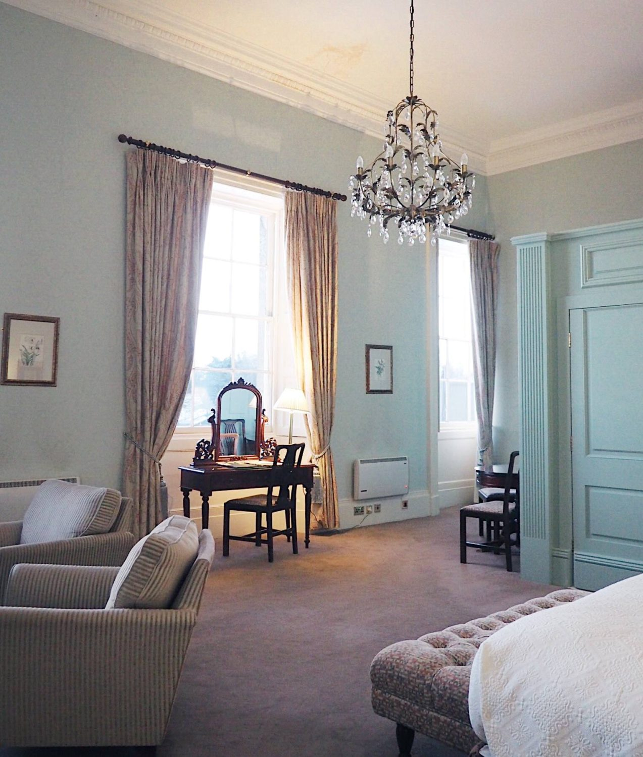 Wynyard hall hotel review: Frances Anne Suite review